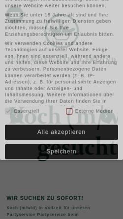 Vorschau der mobilen Webseite www.kieler-whiskymesse.de, Kieler Whiskymesse