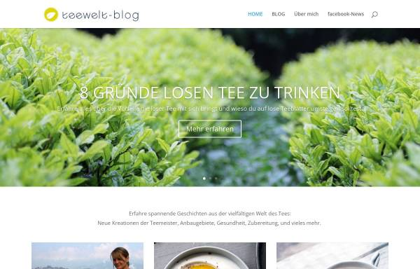 Vorschau von www.teewelt-blog.de, Teewelt