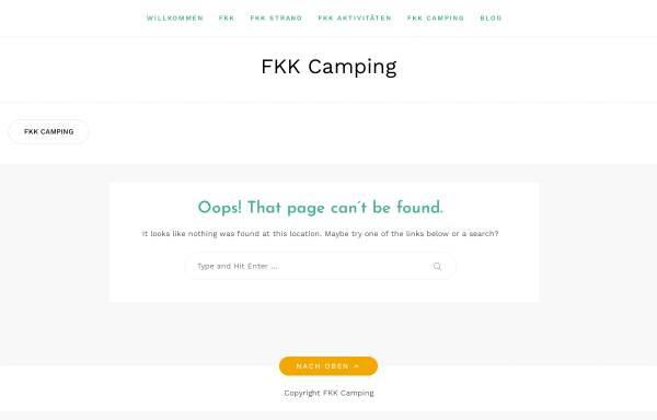 Vorschau von www.fkk-camping.org, FKK-Camping