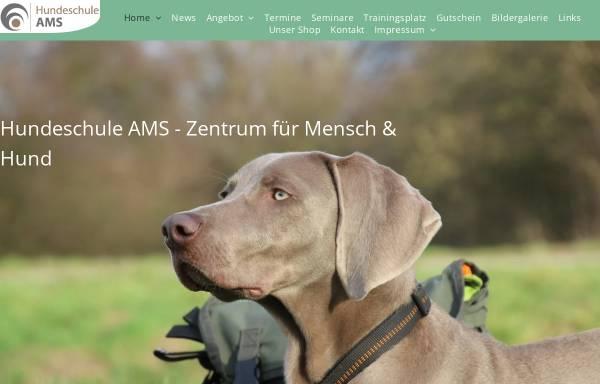 Vorschau von www.hundeschule-ams.de, Andreas Stieb - Hundeschule AMS