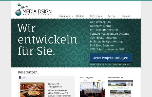 Vorschau von www.media-dsign.de, Hendrik Meyer Media Dsign