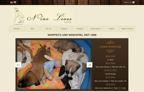 Vorschau von www.nine-lives.eu, Nine Lives Kennel