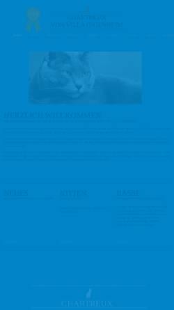 Vorschau der mobilen Webseite www.chartreux-potsdam.de, Von Ingenheim