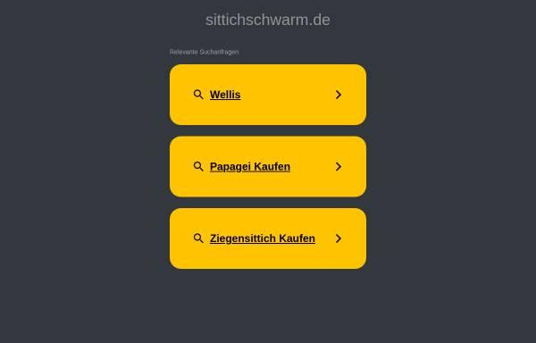 Vorschau von www.sittichschwarm.de, Info-Seite über Wellensittiche