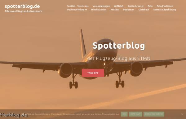 Vorschau von spotterblog.de, Spotterblog.de