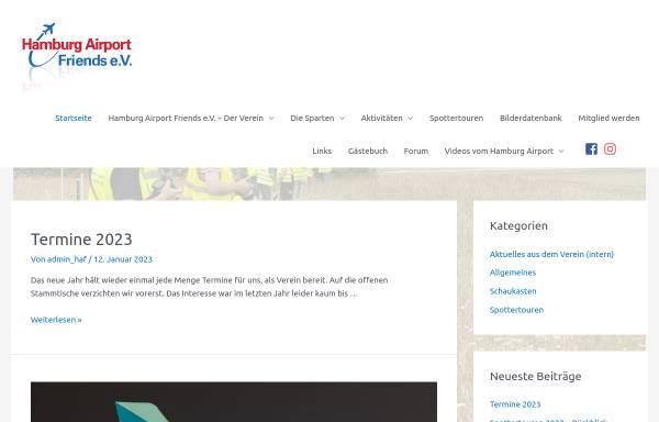 Vorschau von www.hamburg-airport-friends.de, hamburg-airport-friends.de