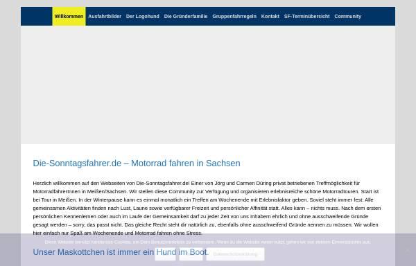 Vorschau von www.die-sonntagsfahrer.de, Die-Sonntagsfahrer.de