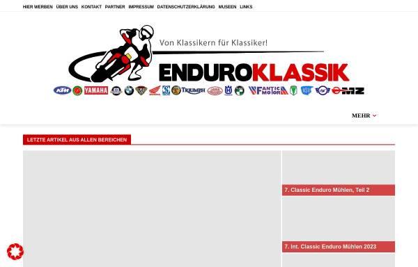 Vorschau von enduro-klassik.de, Enduro-Klassik.de