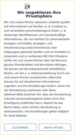 Vorschau der mobilen Webseite nc750.de, NC750.de