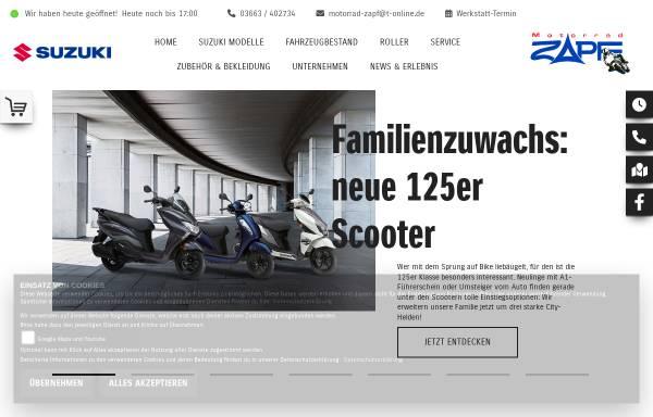 Vorschau von www.motorradzapf.de, Motorrad Zapf