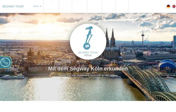 Vorschau von www.seg-tour-koeln.de, Segway Tour Köln