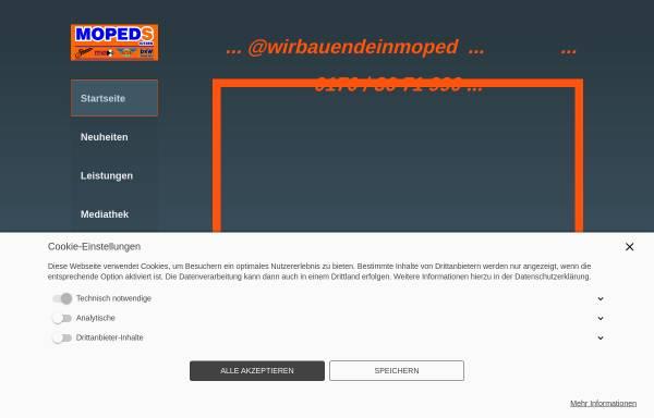 Vorschau von www.mopeds-kitzen.de, Mopeds Kitzen