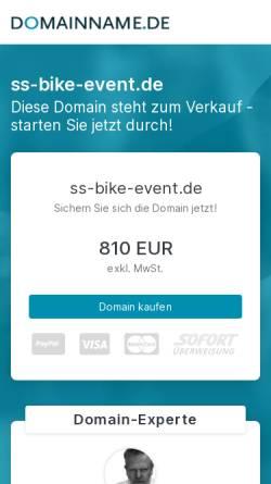 Vorschau der mobilen Webseite www.ss-bike-event.de, Schmidt & Schmidt Bike Event