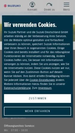 Vorschau der mobilen Webseite www.horex-leipzig.de, Siegfried Müller & Söhne OHG