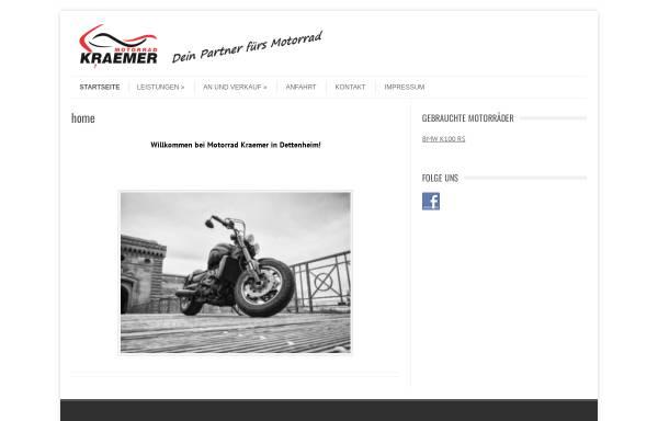 Vorschau von www.motorrad-kraemer.de, Motorrad Kraemer