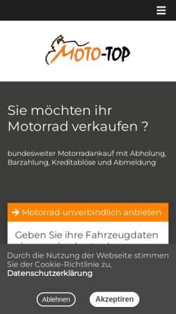 Vorschau der mobilen Webseite www.moto-top.de, Moto-Top
