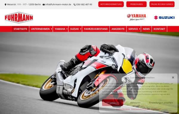 Vorschau von www.fuhrmann-motor.de, Fuhrmann Motor