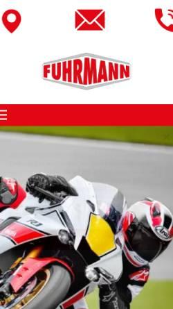 Vorschau der mobilen Webseite www.fuhrmann-motor.de, Fuhrmann Motor