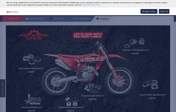 Vorschau von www.partseurope.eu, Parts Europe GmbH