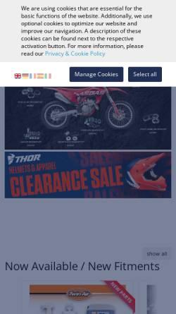 Vorschau der mobilen Webseite www.partseurope.eu, Parts Europe GmbH
