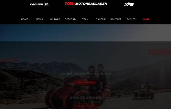 Vorschau von www.toms-motorradladen-shop.de, Tom's Motorradladen