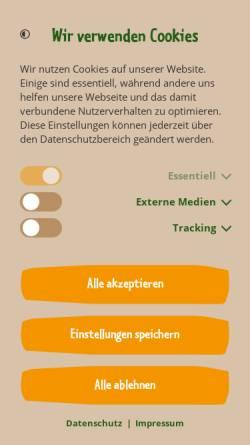 Vorschau der mobilen Webseite www.zoo-leipzig.de, Zoo Leipzig