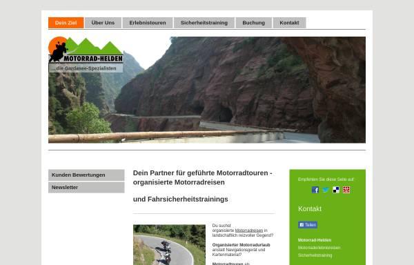 Vorschau von www.motorrad-helden.eu, Motorrad-Helden - Stefan Sack