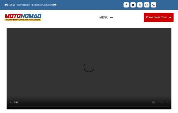 Vorschau von motonomad.com, Motonomad