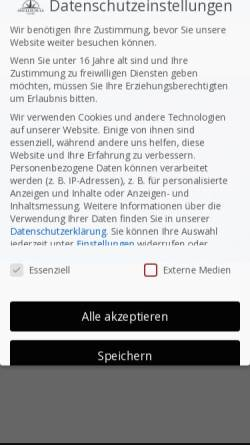 Vorschau der mobilen Webseite www.angelschule-nord.de, Angelschule Nord