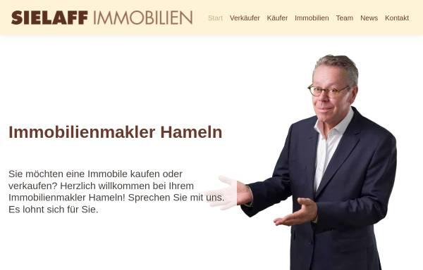 Vorschau von www.sielaffimmobilien.de, Sielaff Immobilien