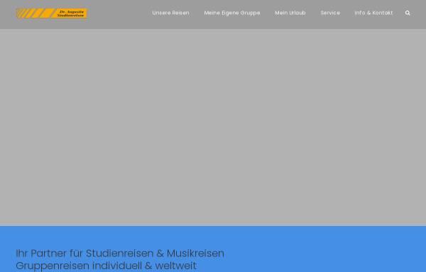 Vorschau von www.dr-augustin.de, Dr. Augustin Studienreisen GmbH