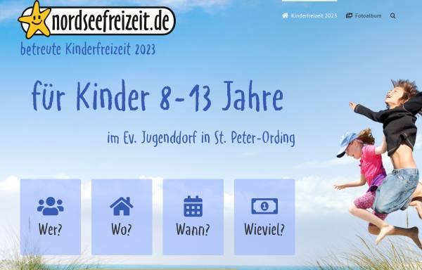 Vorschau von www.nordseefreizeit.de, Ferienreisen an die Nordsee des Kreisjugendring Pfaffenhofen