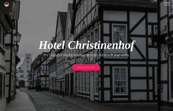 Vorschau von christinenhof.de, Hotel Christinenhof