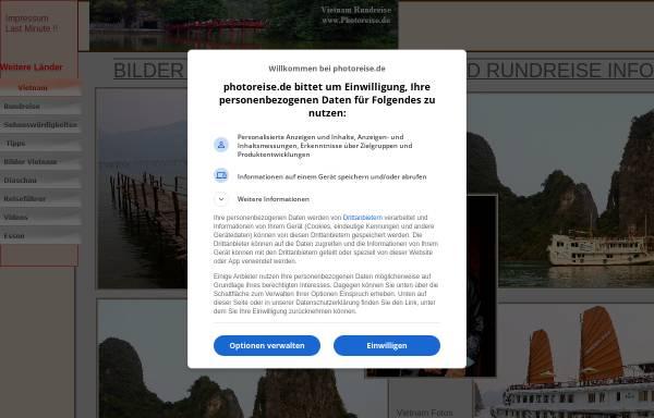 Vorschau von vietnam.photoreise.de, Bilder und Impressionen Vietnam [Jörg Kemmler]