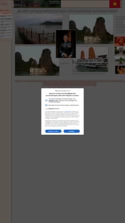 Vorschau der mobilen Webseite vietnam.photoreise.de, Bilder und Impressionen Vietnam [Jörg Kemmler]