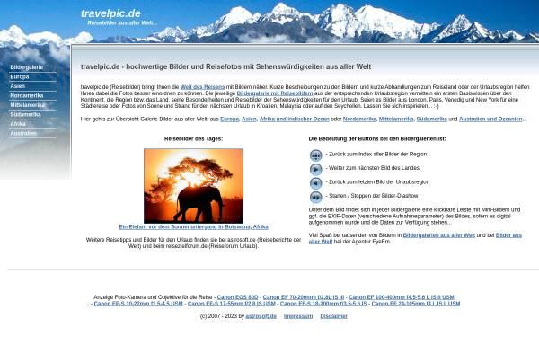 Vorschau von www.travelpic.de, Travelpic