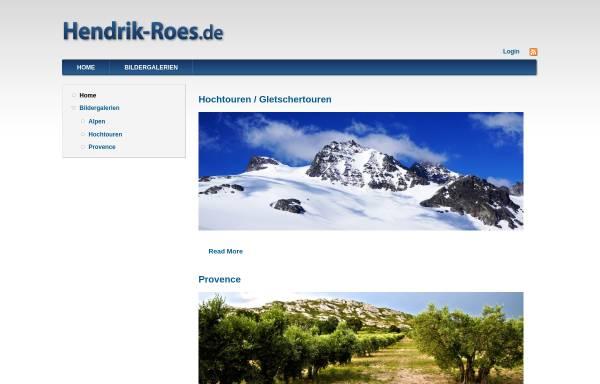 Vorschau von www.hendrik-roes.de, Hendrik Roes