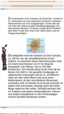Vorschau der mobilen Webseite www.juergen-koerner.de, Gran Canaria [Jürgen Körner]