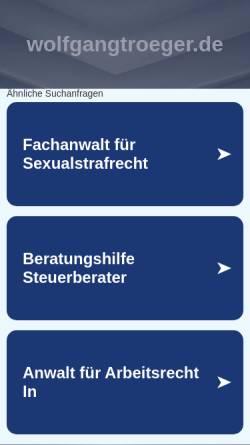 Vorschau der mobilen Webseite www.wolfgangtroeger.de, Gran Canaria [Wolfgang Tröger]