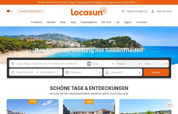 Vorschau von www.locasun.de, Locasun.de [Polyweb]