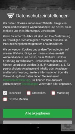 Vorschau der mobilen Webseite www.wild-spirit-tattoo.de, Wild Spirit