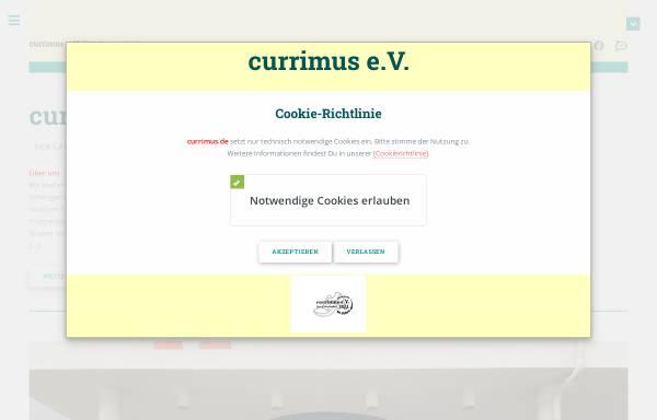 Vorschau von www.currimus.de, Currimus e.V.
