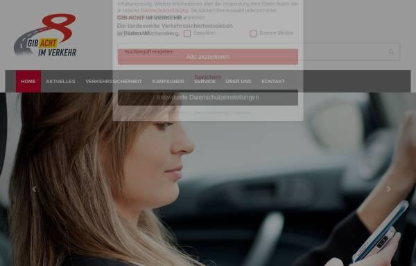 Vorschau von gib-acht-im-verkehr.de, Gib-acht-im-Verkehr.de