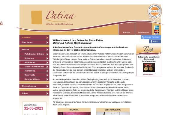 Vorschau von www.militaria-blechspielzeug.de, Militaria und antikes Blechspielzeug