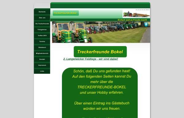Vorschau von www.treckerfreunde-bokel.de, Treckerfreunde Bokel