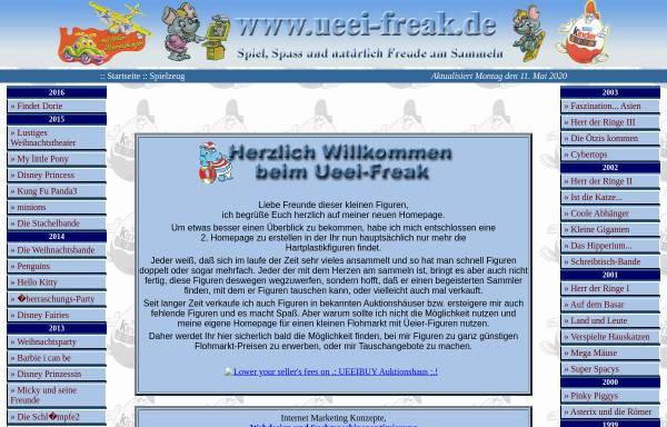 Vorschau von www.ueei-freak.de, Überraschungseier Freak