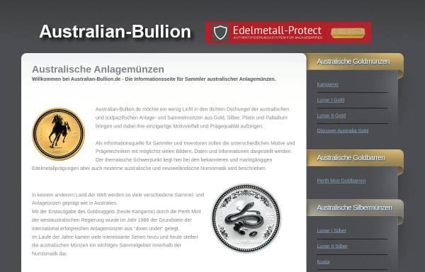 Vorschau von www.australian-bullion.de, Australian-Bullion