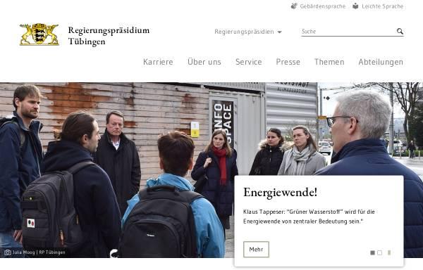Vorschau von www.rp-tuebingen.de, Landesstelle für Straßentechnik