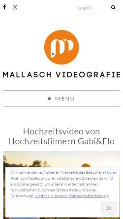 Vorschau der mobilen Webseite mallasch.de, Mallasch, Inh. Florian Mallasch