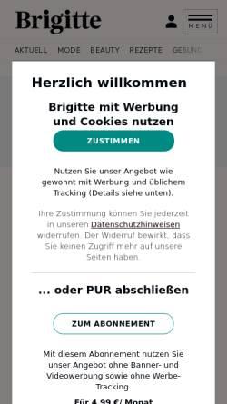 Vorschau der mobilen Webseite mom.brigitte.de, Brigitte Mom